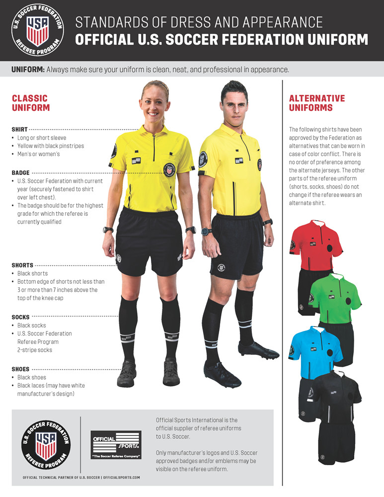 referee_standards_of_dress